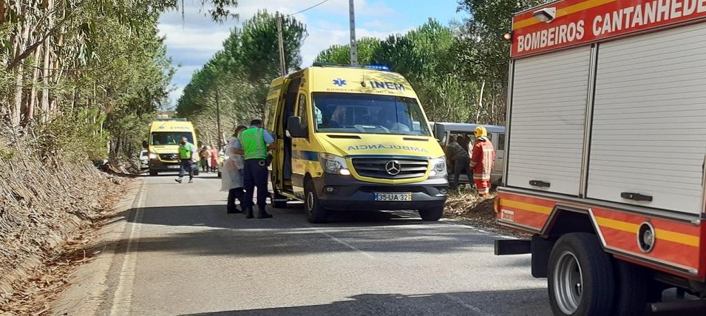 Cantanhede: Mulher ferida em acidente em Ourentã