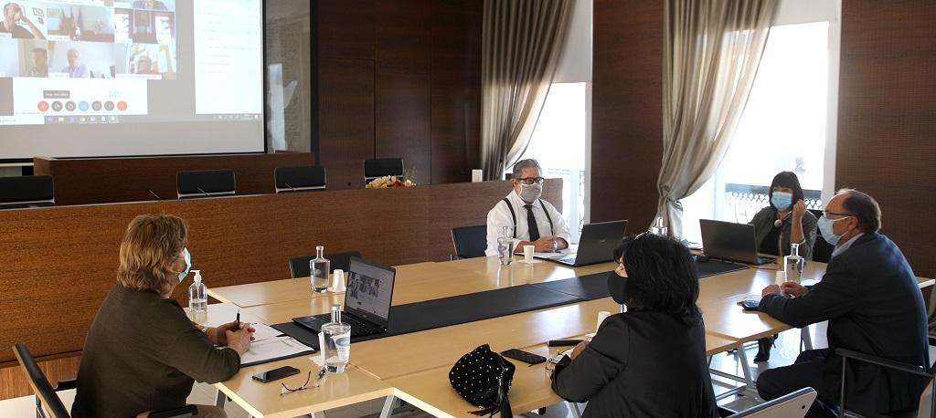 COVID-19: Proteção Civil Municipal analisou situação em Cantanhede