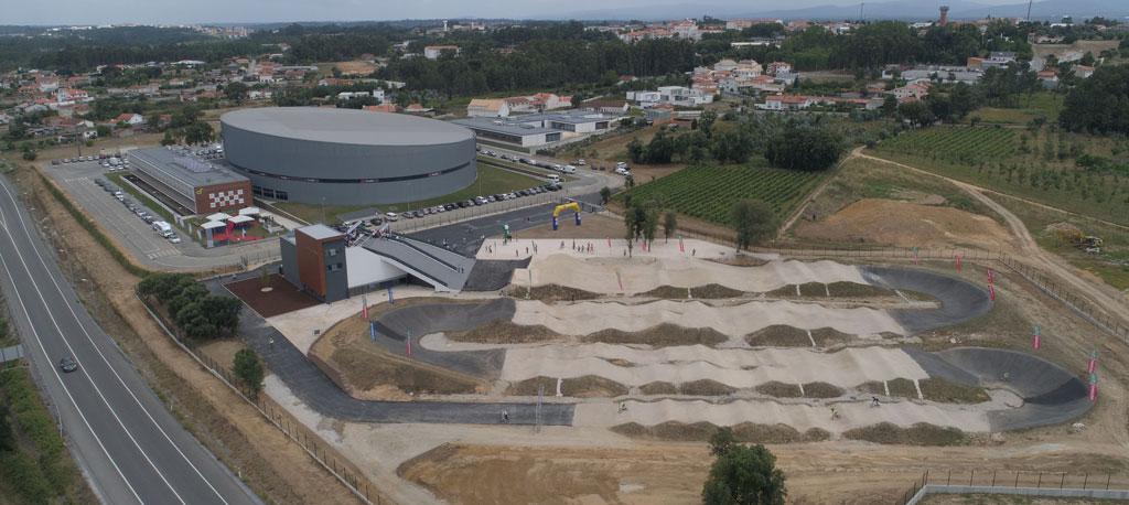 Pista Olímpica de BMX em Sangalhos recebe prova do Campeonato Nacional